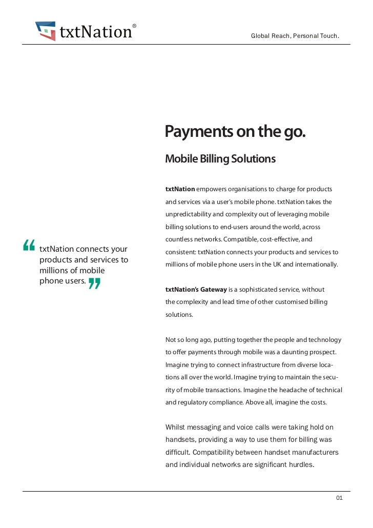 txtNation Payments on the go