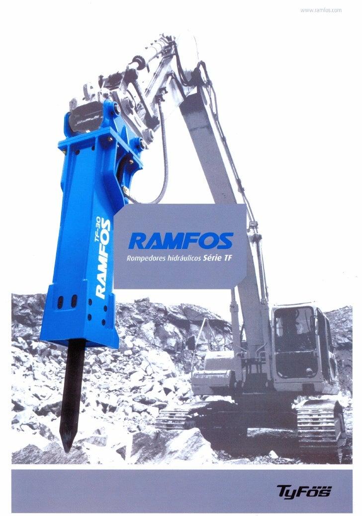 RAMFOS HIDRAULIC HAMMERS
