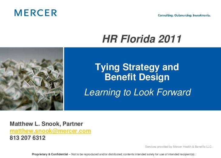 HR Florida 2011                                                       Tying Strategy and                                  ...