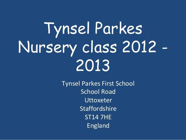 Tynsel parkes nursery class (1)