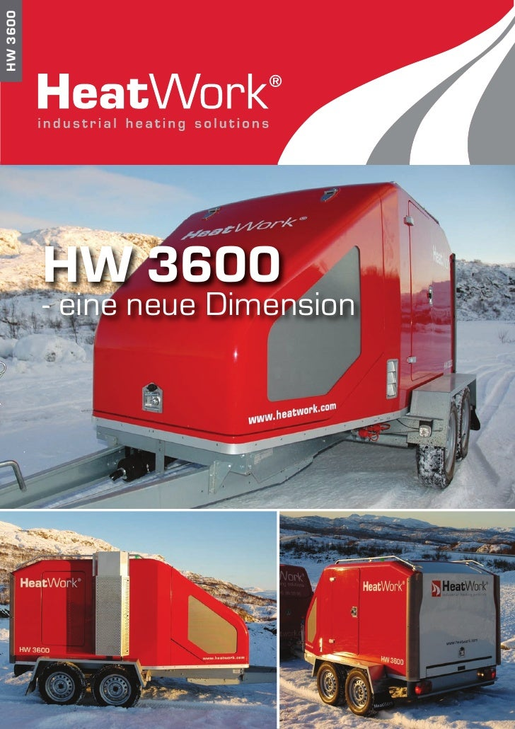 HW 3600               HW 3600           - eine neue Dimension