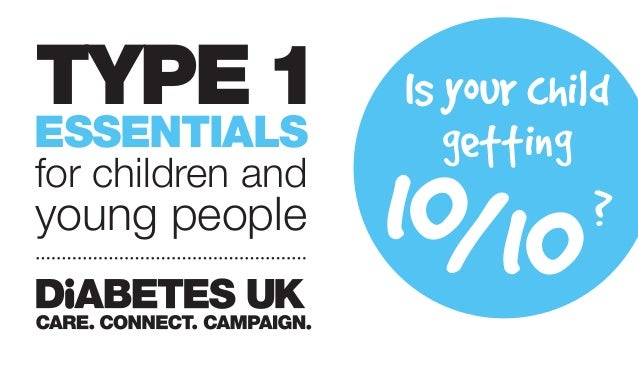 Type 1 Essentials for Children and Young People
