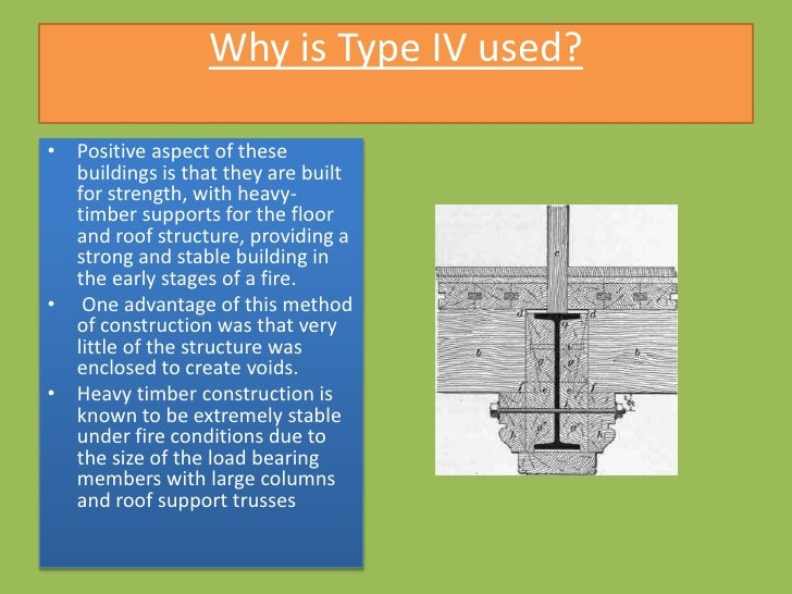 Type iv building construction final for Building construction types for insurance
