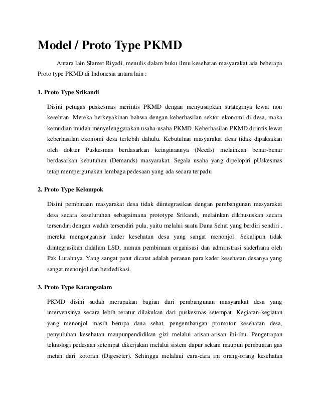 Type pkmd, phc, & tugas puskesmas