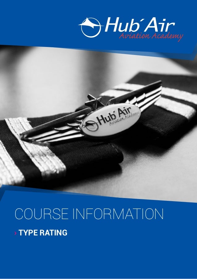 COURSE INFORMATION › TYPE RATING