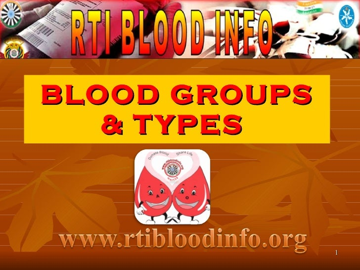 Types Of Blood from Rtibloodinfo