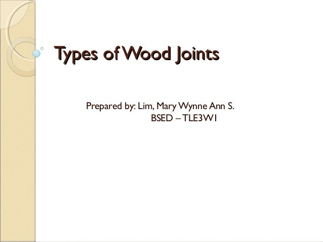 Types of-wood-joints