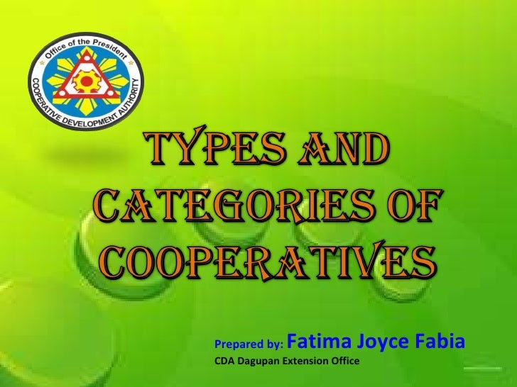 Prepared  by:  Fatima Joyce Fabia CDA Dagupan Extension Office