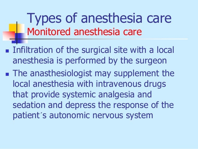 types of local anesthesia #11