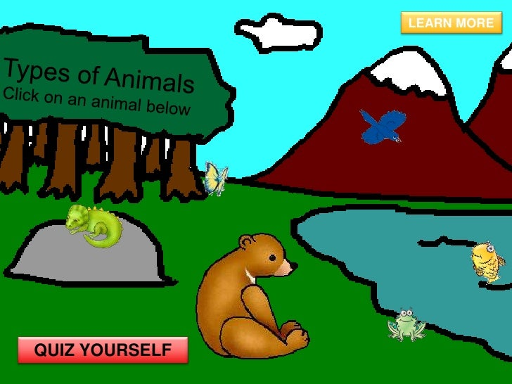 Types Of Animals Assign10
