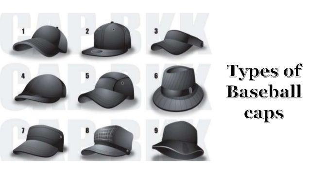 types of baseball caps