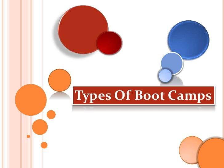 Types Of Boot Camps