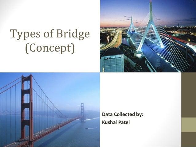 Types of bridge concept