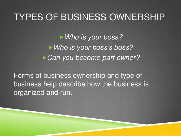 describe the type of business its purpose and ownership Purpose & ownership of two contrasting (different) organisations tesco & nhs introduction: i will be explaining two different businesses that what their purposes are, what kind ownership are they and what is the type of their business tesco started in 1919 when jack cohen started selling surplus grocery from a stall in east london.