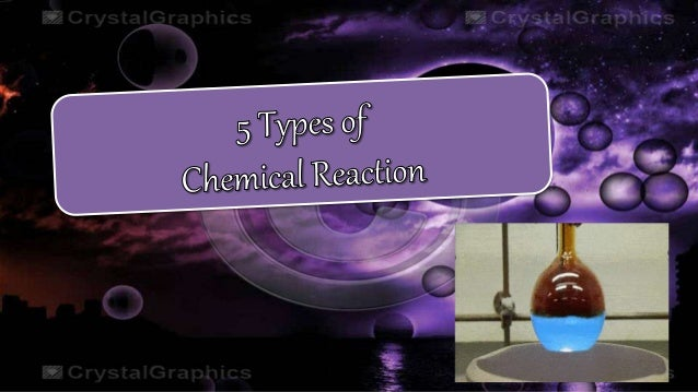 5 types of chemical reactions