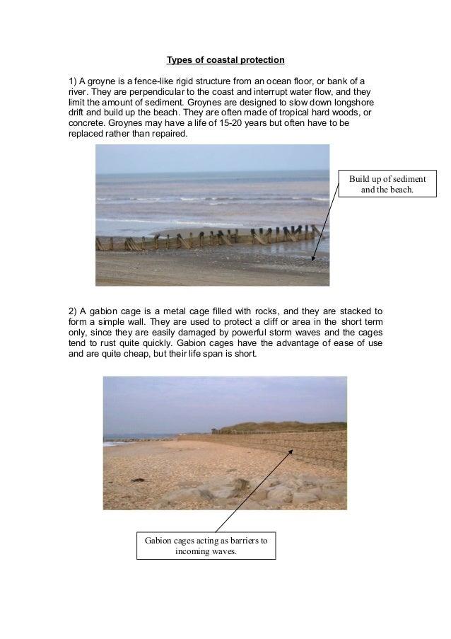 types of coastal protection