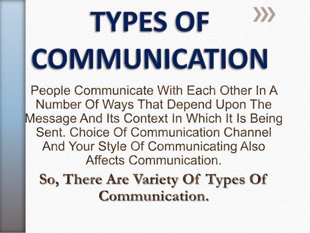 TYPES OF  COMMUNICATION                    Based on                Purpose & Style    Based onCommunicationChannels Used