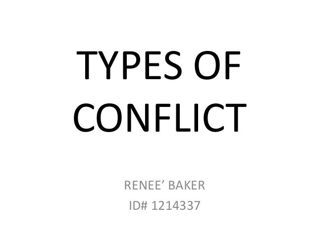 Types of conflict  mediation and conflict resolutions