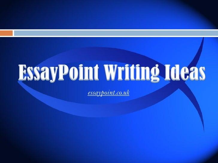 Types of creative essays