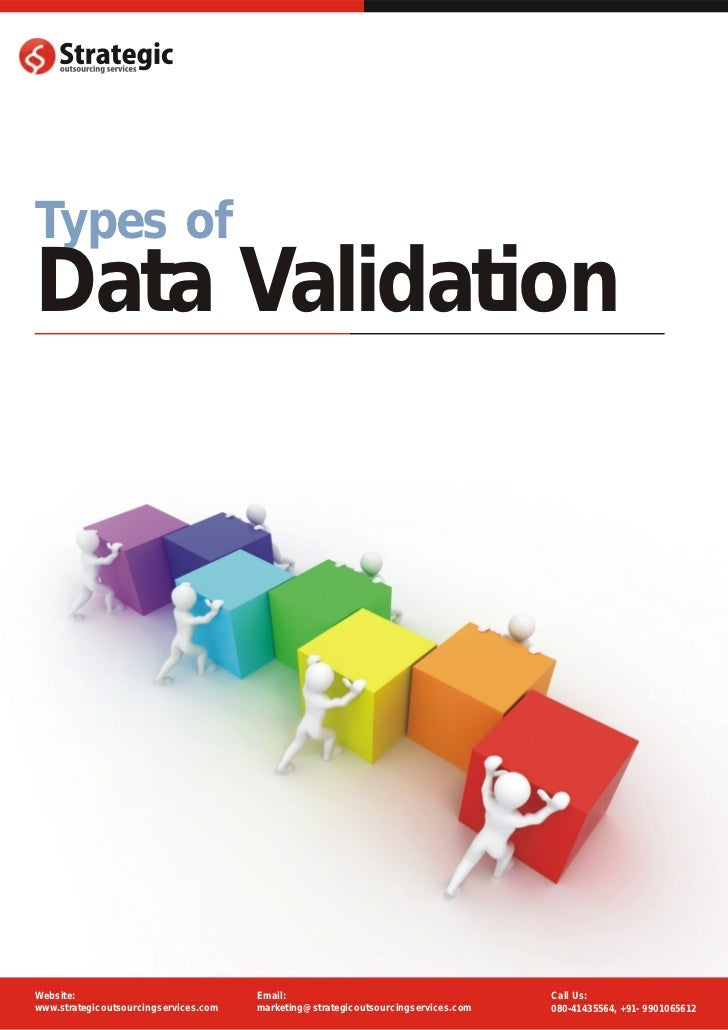 Types ofData ValidationWebsite:                               Email:                                       Call Us:www.str...