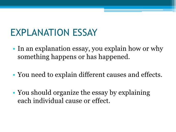 commentary in an essay