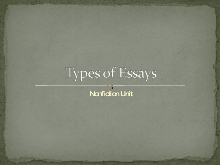 types of illustrative essays It's possible to listing different types of illustrative essay subjects first  as a means to have among the greatest essays one should choose the.