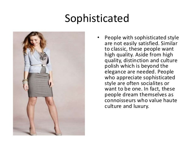 Types of fashion styles r Fashion style categories list