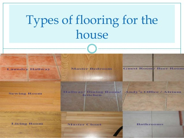 different types of flooring for houses modern house