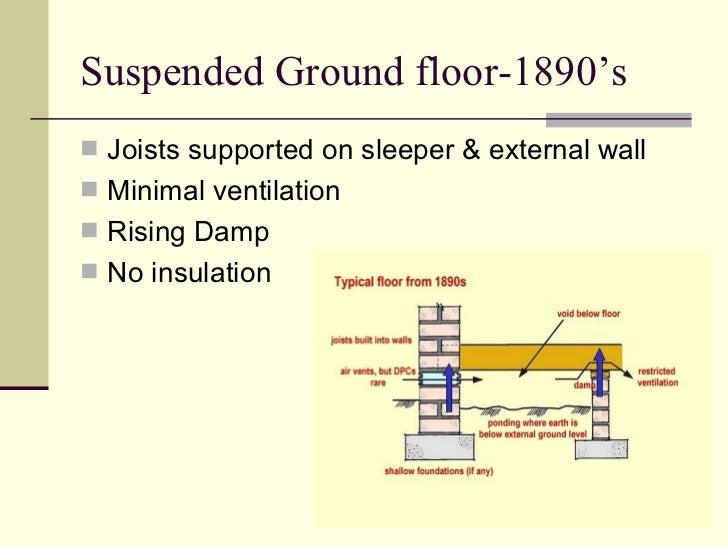 how to stop damp rising through concrete floor