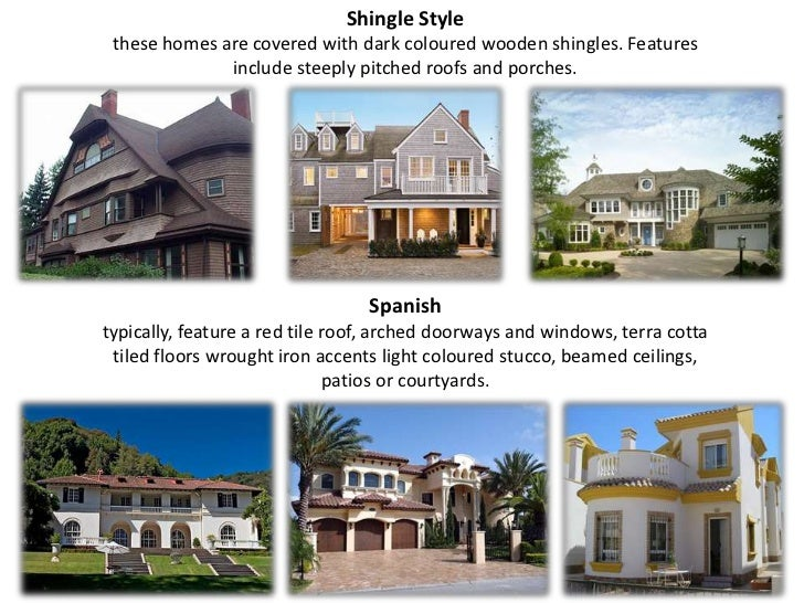 Different types of houses studying 4 the tt easily for Different types of house designs