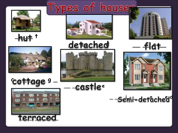 Types Of Houses Powerpoint
