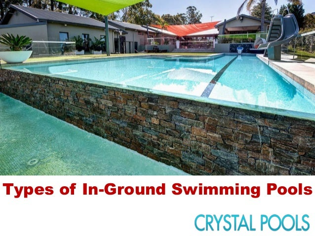 Types of in ground swimming pools for Types of inground swimming pools