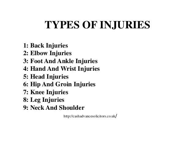 Ankle injury essay