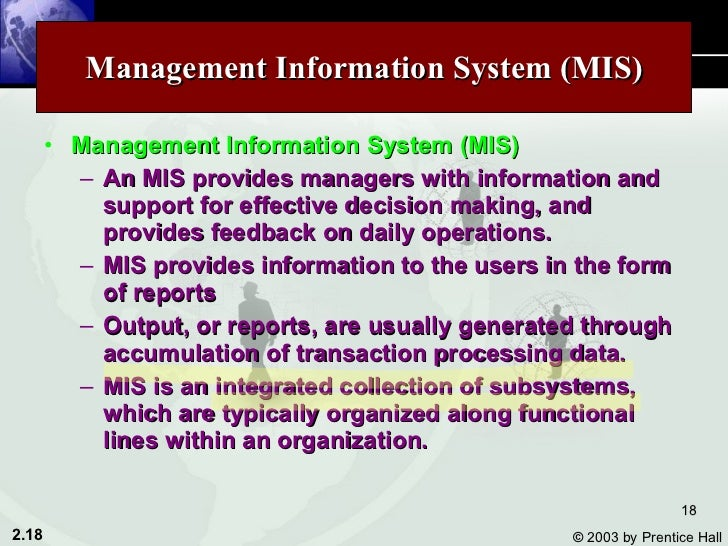 management information system and users essay