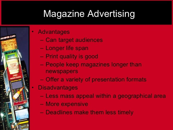 advantages of advertising in local papers What are the advantages and disadvantages of job advertising in local and national newspapers what are the advantages and disadvantages of media and newspapers.