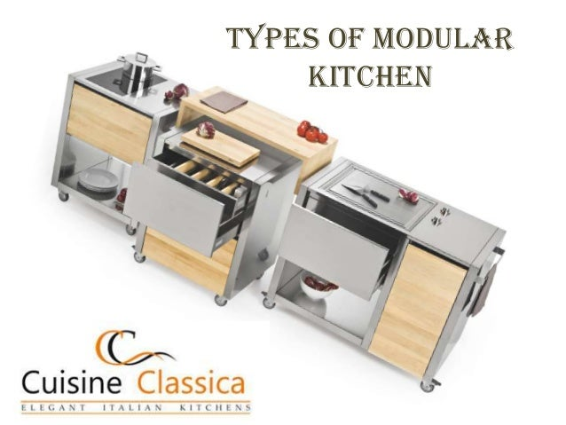 Types of Modular Kitchen