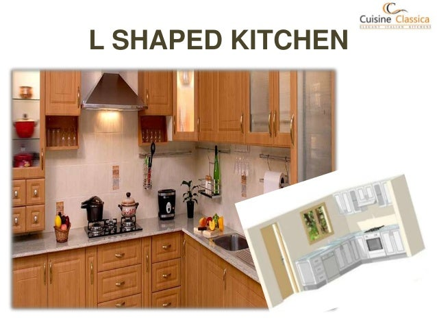 Types of modular kitchen for L shaped modular homes