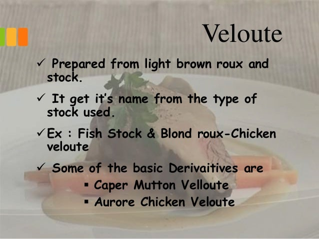 5 types of mother sauces An introduction to the fundamental sauces of french and continental cuisine by t it gives body to four of the five mother sauces the three types of roux.