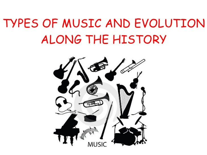 TYPES OF MUSIC AND EVOLUTION ALONG THE HISTORY