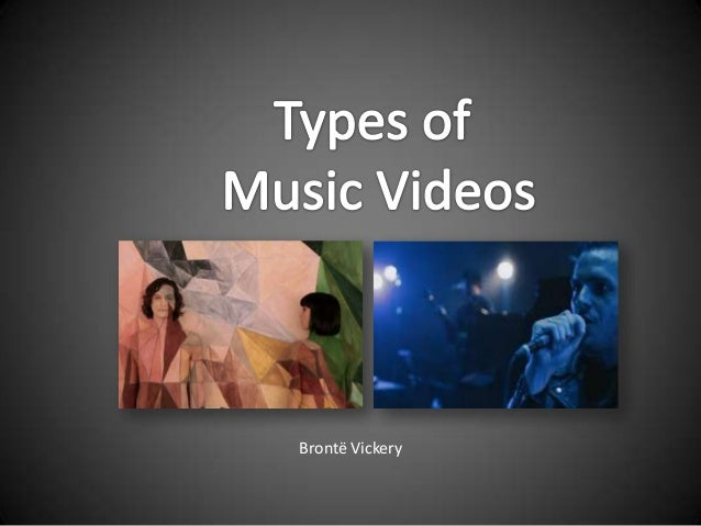 Types of Music Video