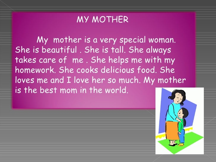 start descriptive essay my mother The characteristics i love about my mom pages 3 words 770 view full essay more essays like this: sign up to view the complete essay show me the full essay.