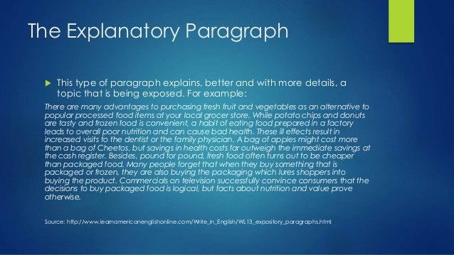 example explanatory essay