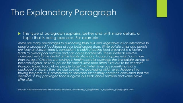 paragraph types in a five paragraph essay The three body paragraphs are absolutely crucial to the success of the five paragraph essay some teachers have trouble teaching the structure of five paragraph essays because they start with the introduction paragraph.