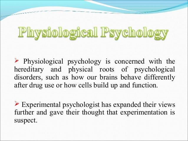 Kinds of psychology
