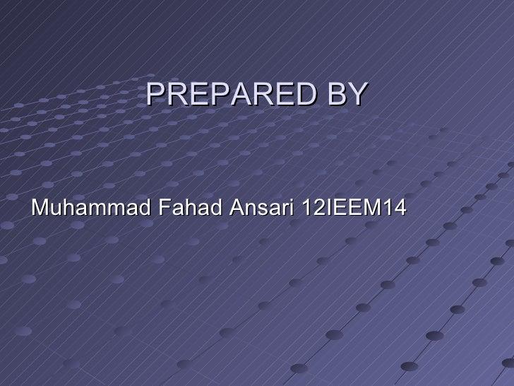 Types of reaction by Muhammad Fahad Ansari 12IEEM14