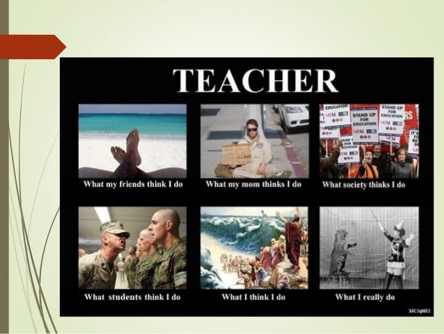 What do you think of my teacher?