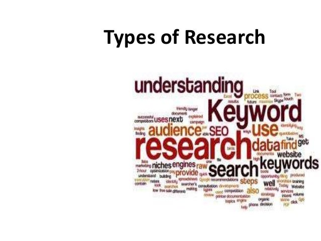 methodology types of research