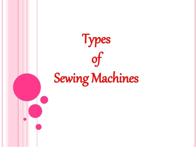 how to use different sewing machine