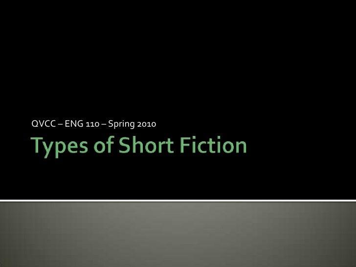 Types Of Short Fiction