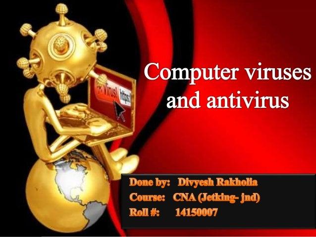 types of computer antivirus pdf